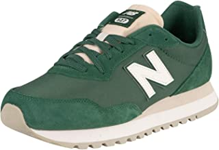 New Balance Men's 527 Suede Trainers, Green