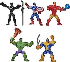 Hasbro Marvel Super Hero Mashers Battle Mash Collection Pack, Includes Iron Man, Black Panther,...