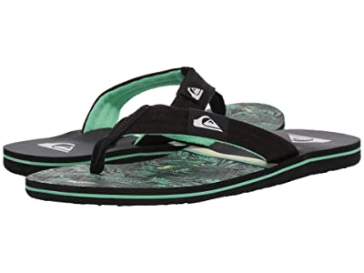 Quiksilver Molokai Layback (Black/Green/Black 2) Men