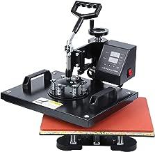 Ridgeyard Máquina de Prensa de Sublimación Transferencia por Calor de Impresión 39.5x 31.5cm para Poner Fotos en Camisetas