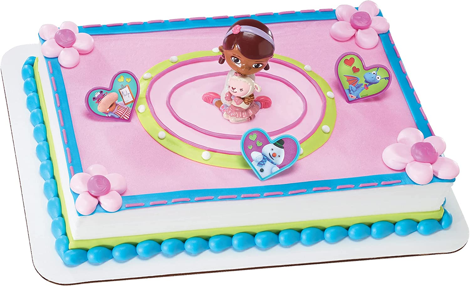Decopac Doc McStuffins and Credence Max 70% OFF Cake Lambie Topper DecoSet
