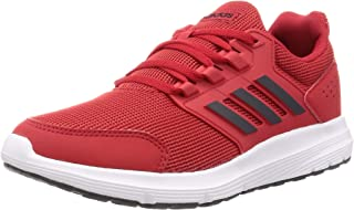 adidas Galaxy 4, Men's Road Running Shoes, Red (Scarlet/Grey Six/Ftwr