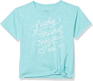 Girls' Tie Front Knot Tee Shirt