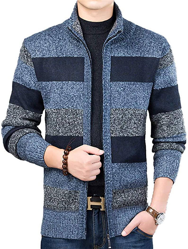 Thick Limited price Branded goods Fashion Sweater for Mens Jumpers Cardigan Slim Knitwea Fit
