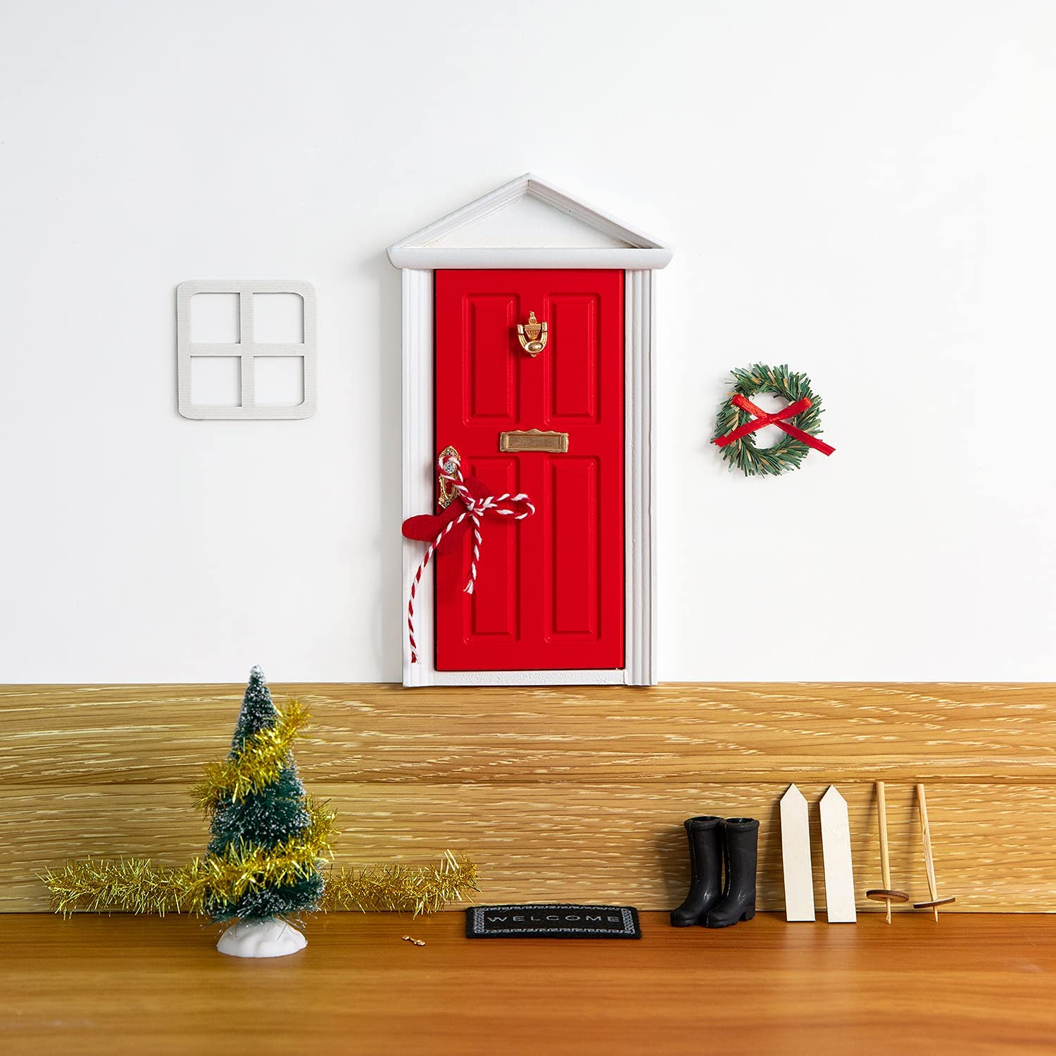 Tonttuovi Special Entry Raleigh Mall for Fairies and Elf Magical Elves f Door Online limited product