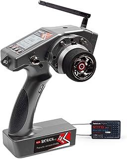 Radiolink RC6GS V2 2.4G 6 Channels RC Transmitter and Receiver R7FG Gyro RX Volt..