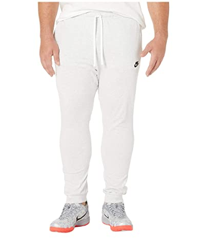 Nike Club Jersey Jogger Pant (Birch Heather/Black) Men