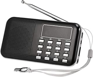 Y-896 Mini FM Radio Digital Portable 3W Stereo Speaker MP3 Audio Player High Fidelity Sound Quality w/ 2 Inch Display Scre...