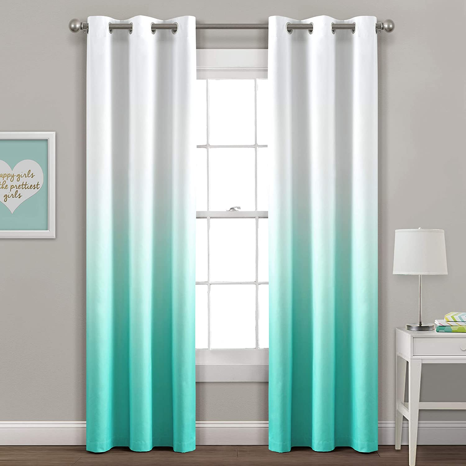 PBJ Mia Ombre Super sale Insulated Gromment Curtain Panel Blackout Window Free shipping / New