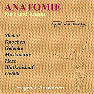 Anatomie kurz und knapp Titelbild
