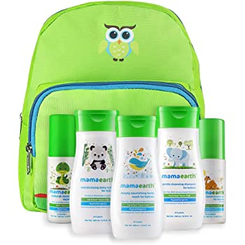 Mamaearth Complete Baby Care Kit With Baby Lotion, Shampoo, Body Wash, Mosquito Repellent & Sunscreen