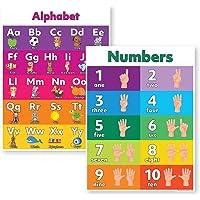 Alphabet & Numbers 18x24