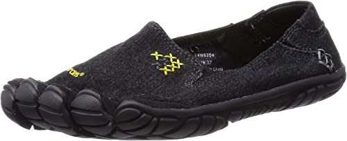Vibram Five Fingers CVT Hemp, Chaussures Chaussures de Fitness Femme, Noir (noir), 36 EU  vente en ligne