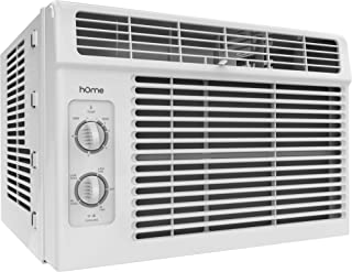 hOmeLabs 5000 BTU Window Mounted Air Conditioner – 7-Speed Window AC Unit Small..