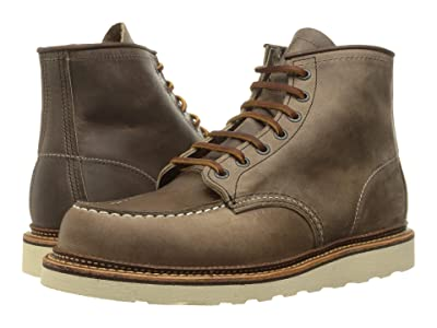 Red Wing Heritage 6 Moc Toe (Concrete Rough & Tough) Men