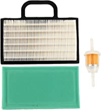 Harbot GY20575 MIU11286 Air Filter with Pre Cleaner Fuel Filter for John Deere LA120 LA130 LA140 LA150 L120 L118 LA135 LA145 D130 D140 GY21056 Lawn Tractor