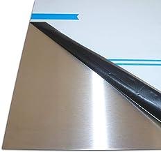 B /& T m/étal V2/A T/ôle zuschnitte 3,0/mm T/ôle dacier inoxydable Nirosta T/ôle Blank unilat/éralement foliert en D/écoupe