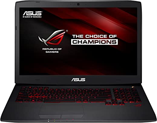 Asus G751JY-T7009H 43 9 cm  17 3 Zoll Full HD  Laptop  Intel Core i7 4710HQ  2 5GHz  24GB RAM  256GB SSD 1TB HDD  GeForce GTX 980M 4GB   Bluray  Win 8 1  non Glare IPS Display  schwarz
