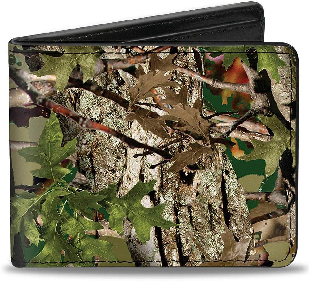 Buckle-Down PU Bifold Wallet - Hunting Camo