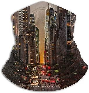 Scarf New York Street Neck Gaiter Magic Headband Balaclava Hood Unisex Mask Bandana Winter Warm Headwear NOE 12181