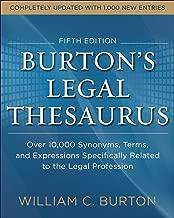 Best burton's legal thesaurus Reviews