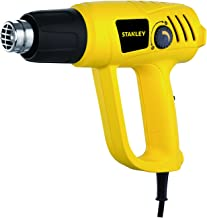STANLEY STXH2000 2000W Variable Speed Heat Gun (Yellow and Black)
