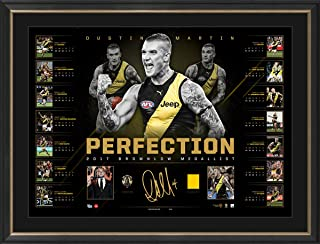 Sport Entertainment Products Dustin Martin Brownlow Signed 'Perfection'