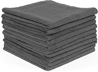 The Rag Company (10-Pack) 16 in. x 16 in. Professional EDGELESS 365 GSM Premium 70/30 Blend Metal POLISHING & Detailing Microfiber Towels The Miner