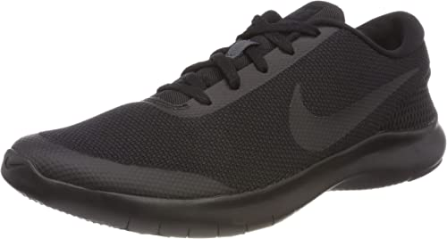 NIKE Men's Flex Experience Run 7 schuhe, schwarz-Anthracite, 10 Wide US