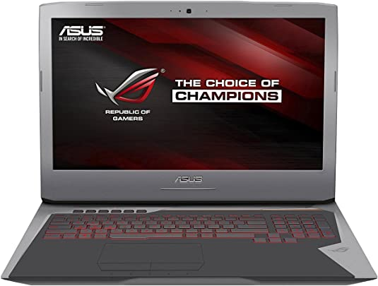 Asus ROG-Gaming G752VT-GC031T 43 94 cm 17 3 Zoll FHD Laptop Intel Core i7 6700HQ 16GB RAM 256GB SSD 1TB HDD NVIDIA Geforce GTX 970M Windows 10 silber Schätzpreis : 678,00 €