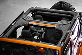 Outland 391361001 Black Roll Bar Cover Kit for Jeep CJ and 87-91 Wrangler YJ