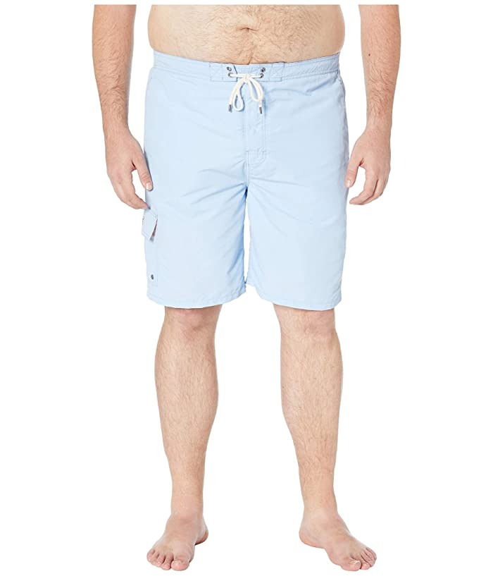 8a2b1bde50 Polo Ralph Lauren Big & Tall Big and Tall Nylon Kailua Swim Trunks (Baby  Blue) Men's Swimwear