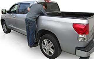 AMP Research 75405-01A BedStep2 Retractable Truck Bed Side Step for 2007-2018 Toyota Tundra CrewMax