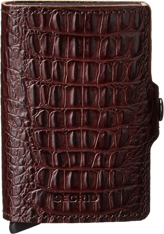 Secrid Slimwallet Brown Nile Leather Wallet SC5342