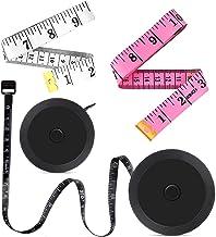 Measuring Tape, Retractable Tape Measure for Body 4 Pack Measurement Tape Ruler Tape for..