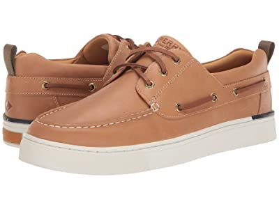 Sperry Gold Cup Victura 3-Eye (Tan) Men
