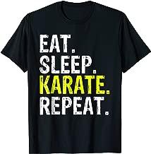 Eat Sleep Karate Repeat Gift T-Shirt