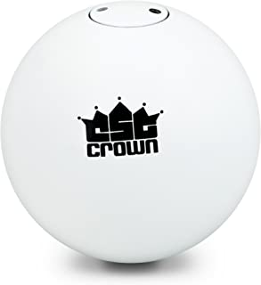 Crown Sporting Goods 4.0kg (8.8lbs) Shot Put, Cast Iron Weight Shot Ball – Great for Outdoor Track & Field Competitions, Practice, Training