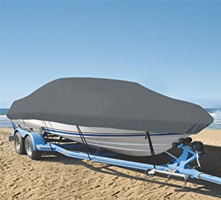 SHT-SBU 9 oz Boat Cover Custom Cover Exact FIT for BAYLINER Capri 1850 I/O 1993-1997