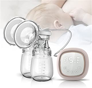 Breast Pump Electric Breast Pump LCD Touch Screen Control Charged By USB Milking Machine Asy Carry Outdoors Milk Nursing P...