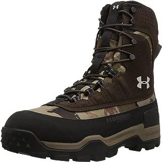 Under Armour Women's Brow Tine 2.0 400G Ankle Boot, Ridge Reaper Camo Ba (901)/Maverick Brown, 6
