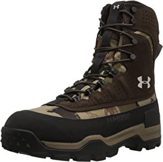 Under Armour Women's Brow Tine 2.0 400G Military and Tactical Boot, Ridge Reaper Camo Barren/Maverick Brown/Smoke