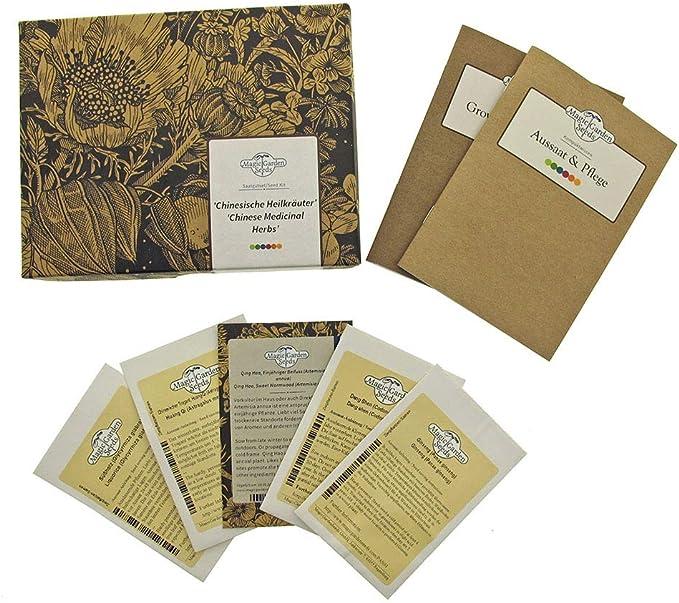 47 opinioni per Erbe medicinali cinesi- set regalo di semi con 5 piante medicinali asiatiche di