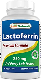 Best Naturals Lactoferrin 250 mg Veggie Capsule, Supports Healthy Immune Function - 60 Count