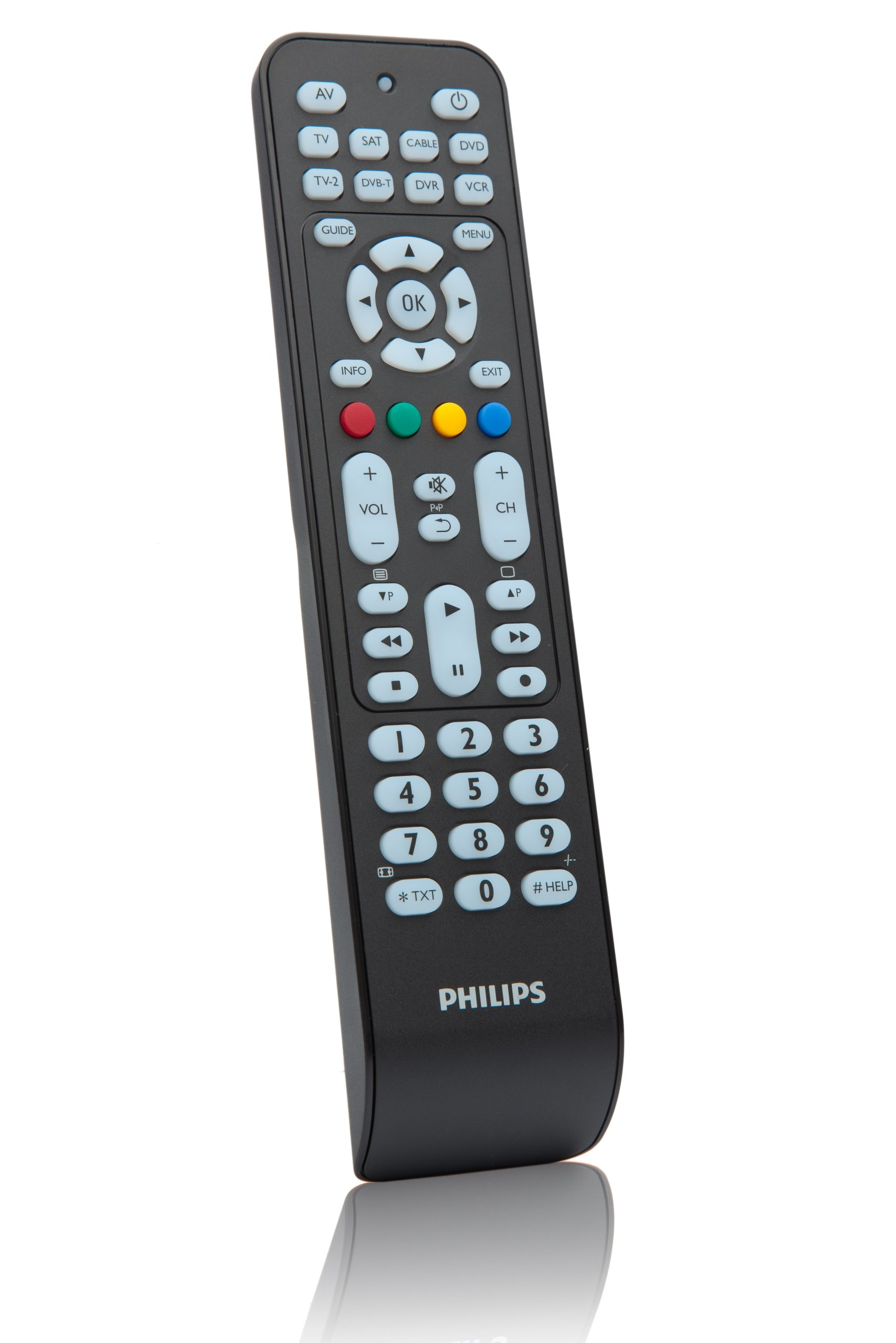 Philips SRP2008B - Mando a distancia universal (Botónes para ...