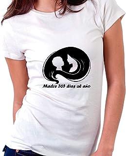 Custom Vinyl Camiseta Dia de la Madre La Fuerza es intensa en Esta Mama XL - Normal