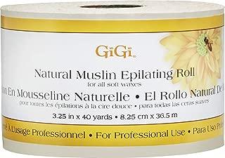 GIGI Natural Muslin Roll (3.25 in. x 40 yards )