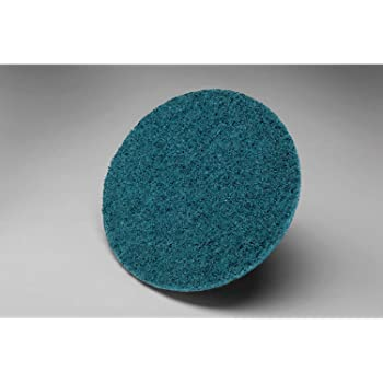 Surface Conditioning Disc Pack of 50 TM Scotch-Brite Hook and Loop Attachment NH A Medium 5 Diameter Aluminum Oxide 3M SC-DH