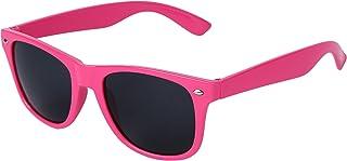 OUTEYE ファッションレディースメンズ旅人ヴィンテージ レトロ クールな太陽鏡 ビッグフレーム サングラス 眼鏡 UVフリー オシャ (ピンク)
