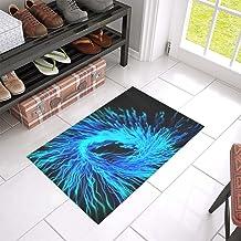 Flame Color Abstract Art Energy Bright Science Unique Debora Custom Bathroom Accessories Non-Slip Bath Mat Rug Bath Doorma...